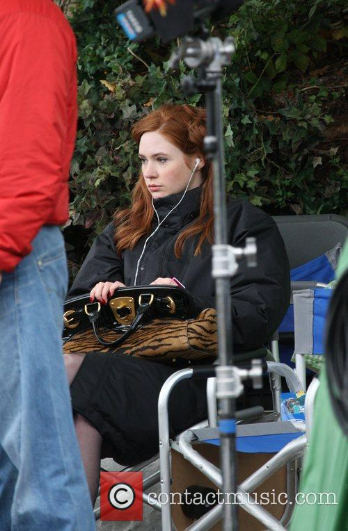 Karen Gillen and Doctor Who 6