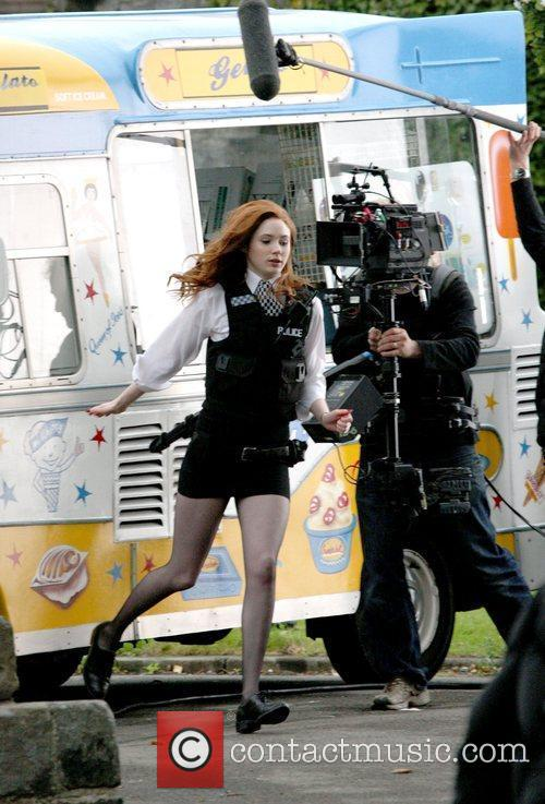 Karen Gillen and Doctor Who 3