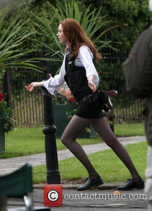 Karen Gillen and Doctor Who 4