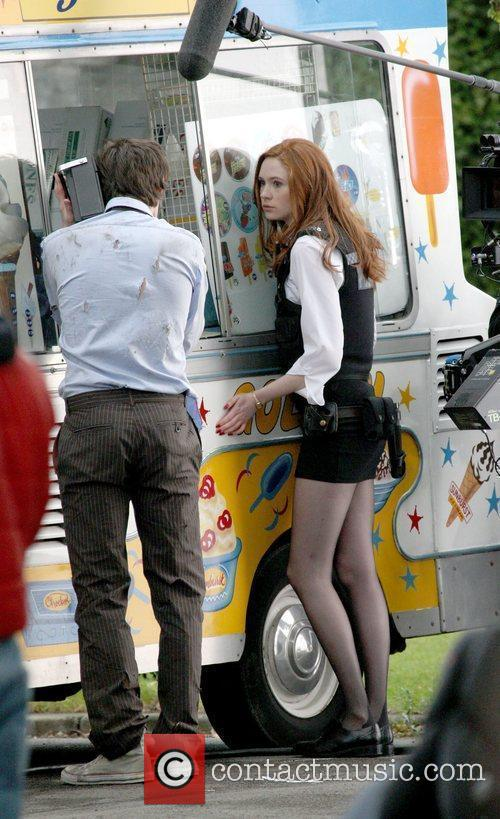 Karen Gillen and Doctor Who 7