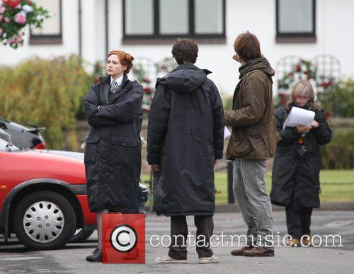 Karen Gillen and Doctor Who 8