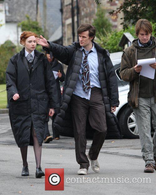 Matt Smith and Doctor Who 10