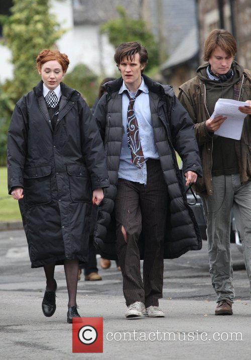Matt Smith and Doctor Who 7