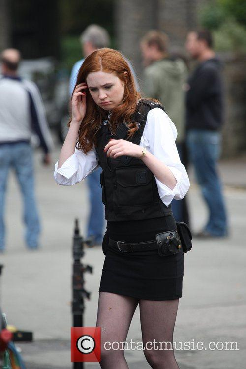 Karen Gillen and Doctor Who 10