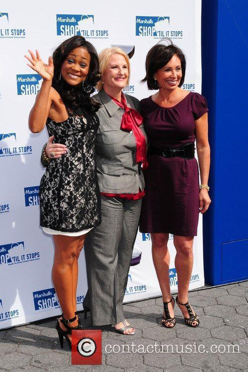 Robin Givens and Judge Jeanine Pirro, with Sheryl...