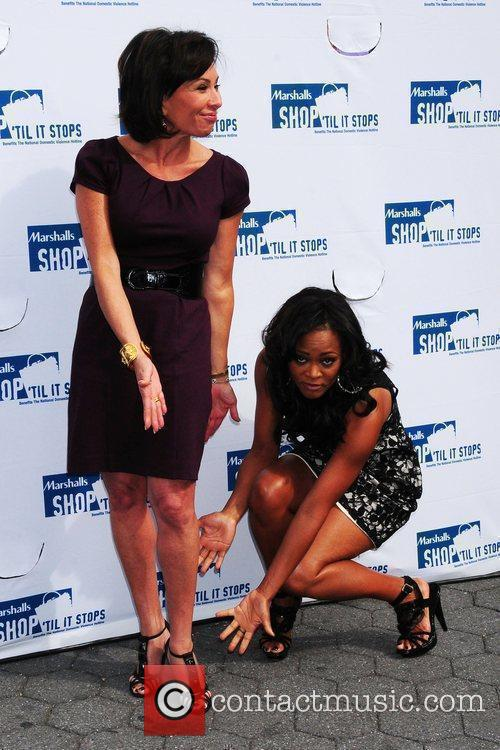 Robin Givens and Judge Jeanine Pirro unveil a...