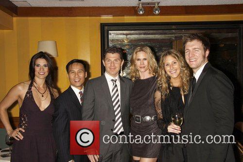 Milena Govich, BD Wong, Bobby Flay, Stephanie March,...
