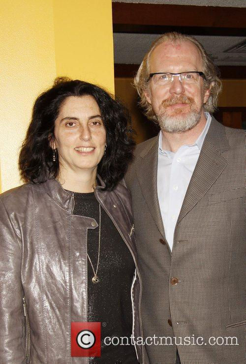 Tina Landau and Tracy Letts Opening night after...