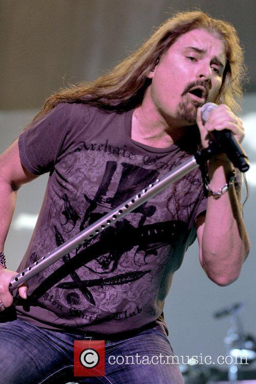 American progressive metal band Dream Theater performs live...