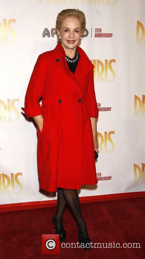 Carolina Herrera Opening night of 'Dreamgirls' held at...
