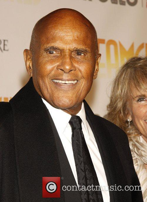 Harry Belafonte Opening night of 'Dreamgirls' held at...