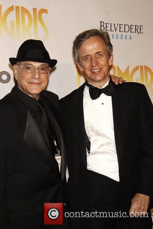 Henry Krieger and Robert Joy Opening night of...