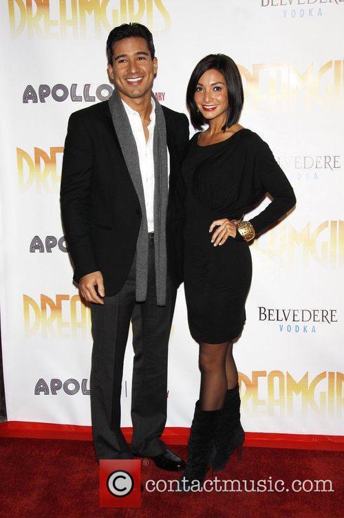 Mario Lopez and Courtney Laine Mazza Opening night...