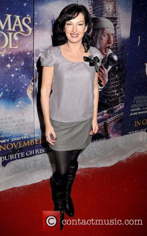 Premiere of Disney's 'A Christmas Carol' held at...