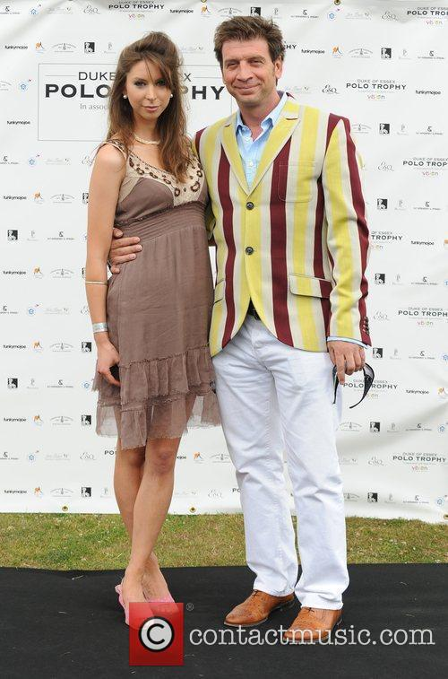 Guests at the Duke of Essex Polo Trophy...
