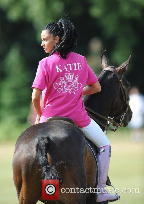 Katie Price and Duke Of Essex Polo Trophy 6