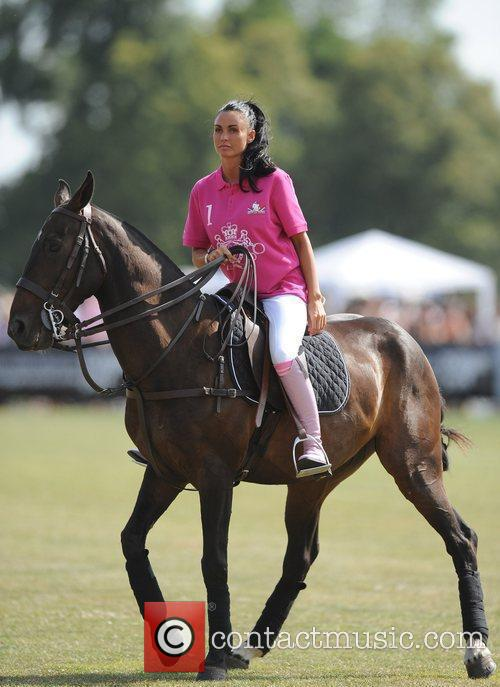 Katie Price and Duke Of Essex Polo Trophy 3