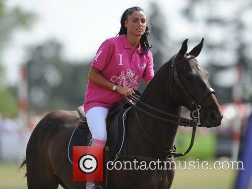 Katie Price and Duke Of Essex Polo Trophy 5