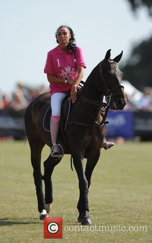 Katie Price and Duke Of Essex Polo Trophy 4