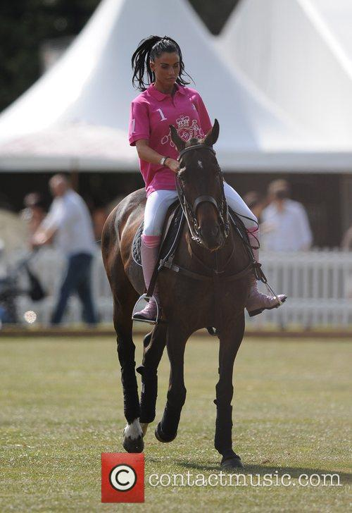 Katie Price and Duke Of Essex Polo Trophy 10