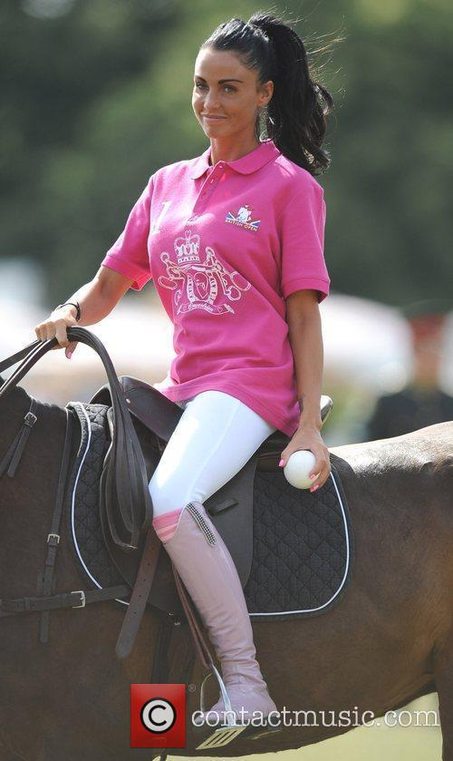 Katie Price and Duke Of Essex Polo Trophy 8