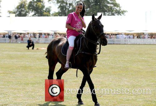 Katie Price and Duke Of Essex Polo Trophy 12