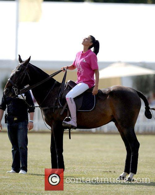 Katie Price and Duke Of Essex Polo Trophy 1