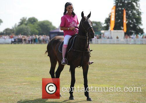 Katie Price and Duke Of Essex Polo Trophy 9