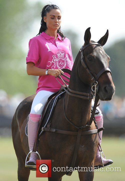 Katie Price and Duke Of Essex Polo Trophy 15