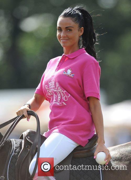 Katie Price and Duke Of Essex Polo Trophy 16