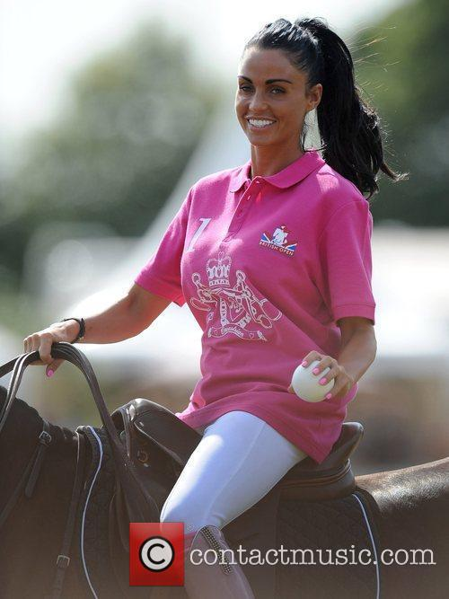 Katie Price and Duke Of Essex Polo Trophy 17