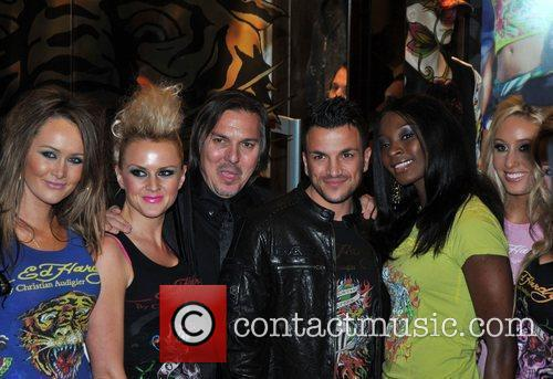 Peter Andre Ed Hardy - Store Launch Party...