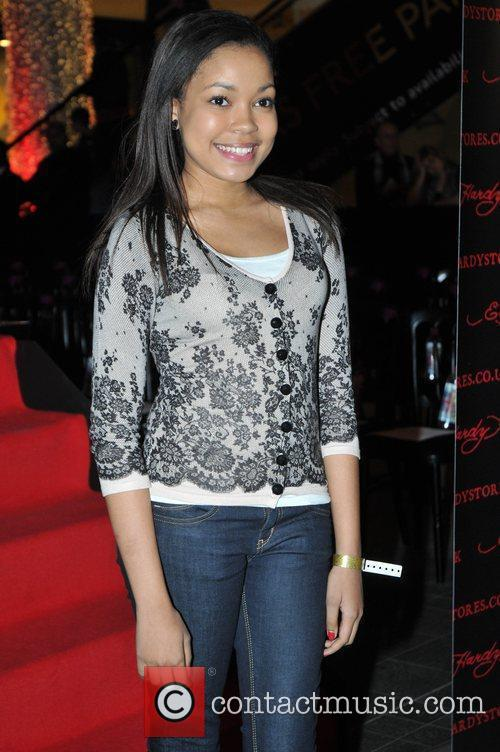 Dionne Bromfield Ed Hardy - Store Launch Party...