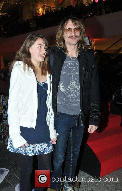 Justin Hawkins Ed Hardy - Store Launch Party...