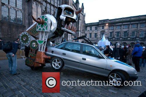 Edinburgh's Christmas the Homecoming 2009 Art Car Parade...