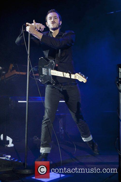 Editors perform at Hammersmith Apollo