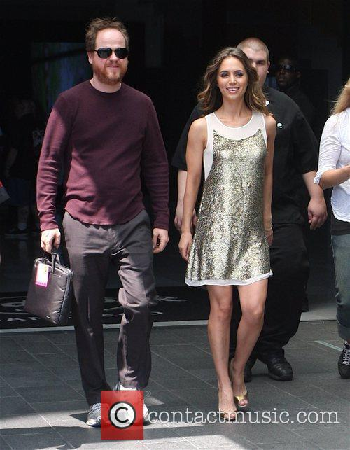 Leaves The Hard Rock Hotel during Comic Con...