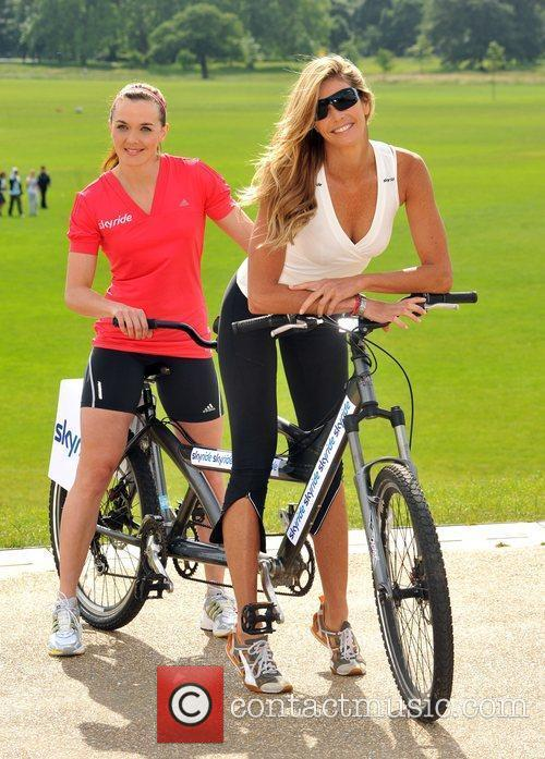 Elle Macpherson and Victoria Pendleton launch Skyride at...