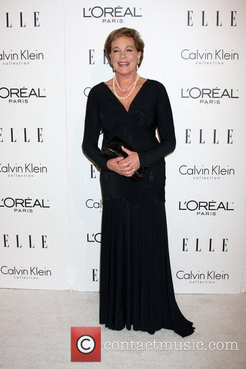 Julie Andrews arriving at the 16th Annual Women...
