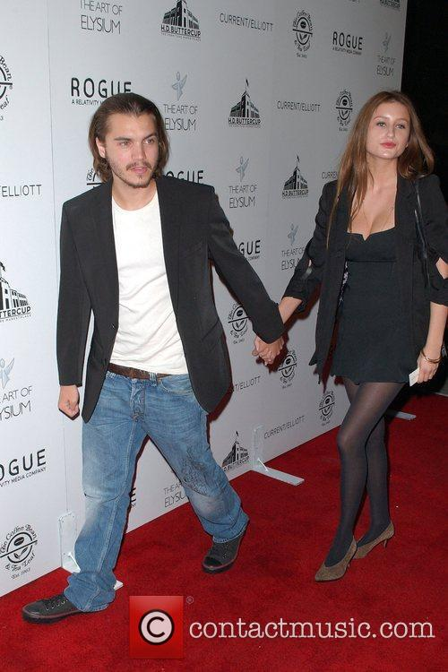 Actor Emile Hirsch  attends 'The Art of...
