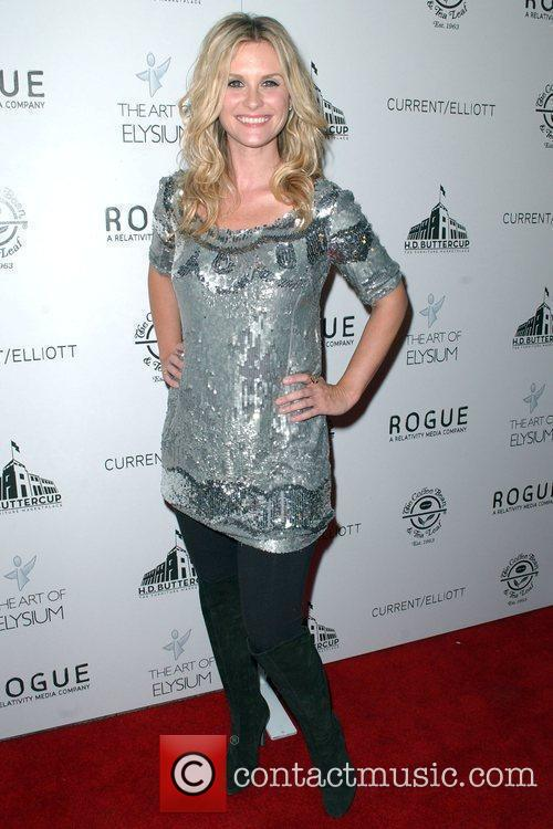 Actress Bonnie Sommerville attends 'The Art of Elysium...