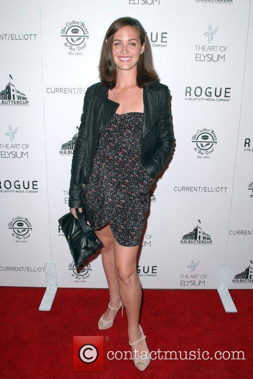Christine Woods  attends 'The Art of Elysium...