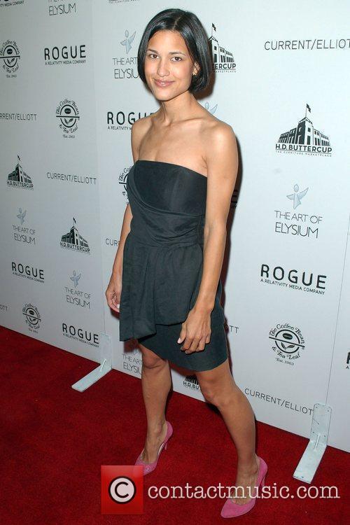 Julia Jones  attends 'The Art of Elysium...