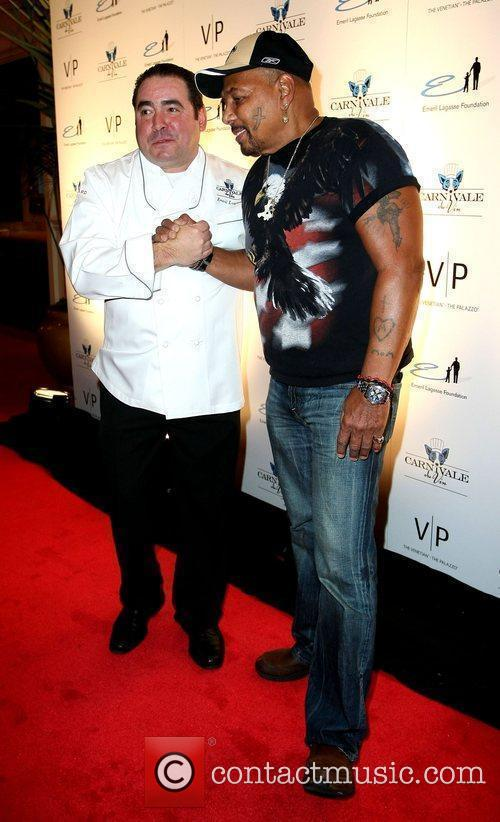 Emeril Lagasse and Aaron Nevel Emeril Lagasse Foundation's...