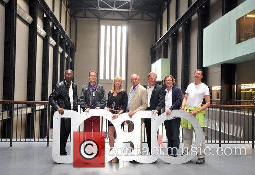 10:10 Environmental Campaign launch at the Turbine Gallery...