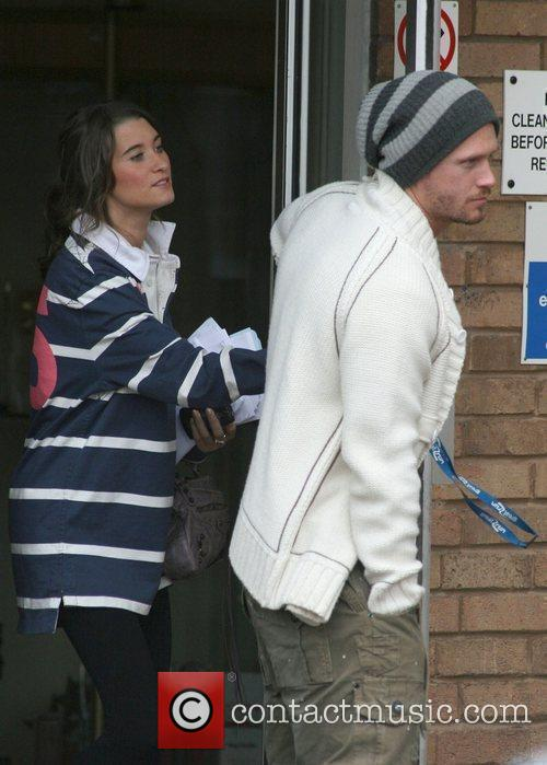 Charley Webb and Matthew Wolfenden The cast of...
