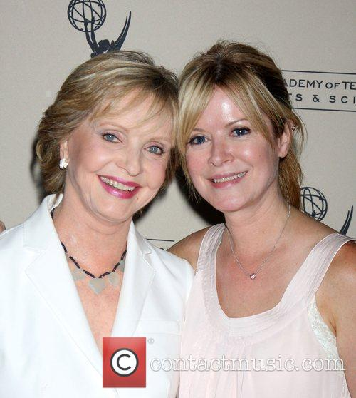 Florence Henderson and Barbara Chase 2