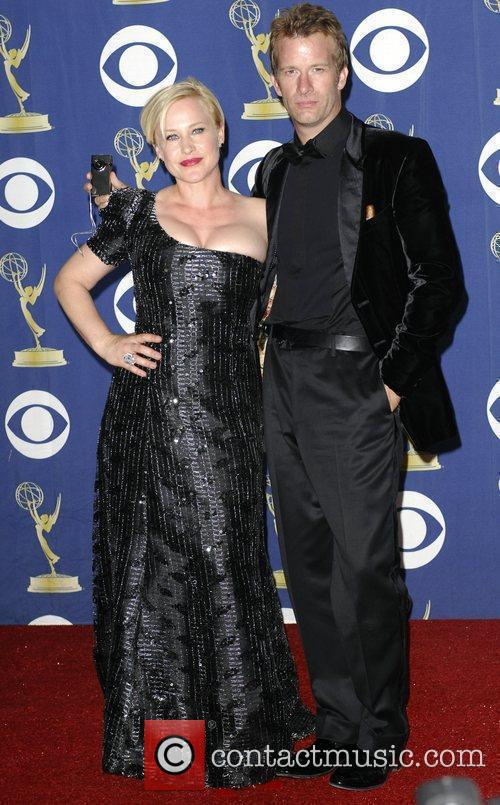 Patricia Arquette and Thomas Jane 61st Primetime Emmy...