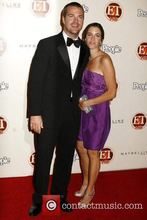 Chris O'donnell and Caroline Fentress 1