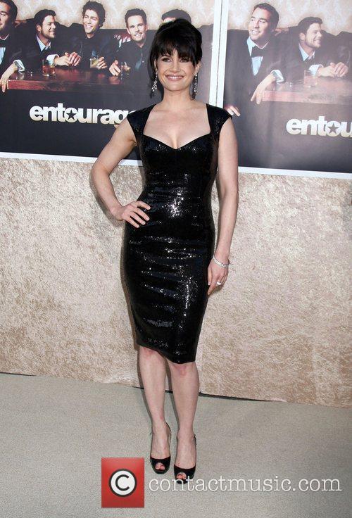 Carla Gugino The 'Entourage' 6th Season Premiere at...